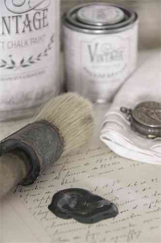 "vintage Chalk Paint ""Black Velvet"" 100ml"