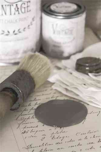 "vintage Chalk Paint ""French grey"" 100ml"