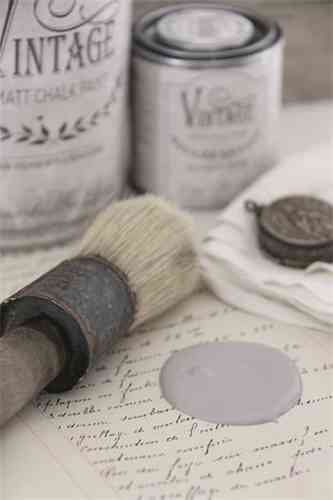 "vintage Chalk Paint ""Warm grey"" 100ml"
