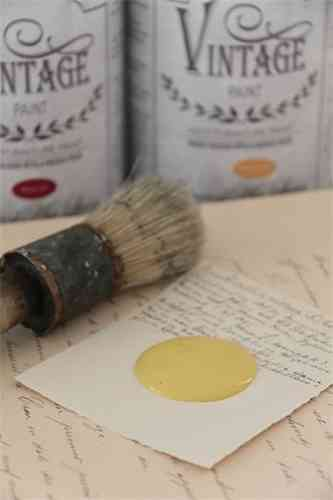 "Vintage Chalk Paint ""Yellow"" 100ml"