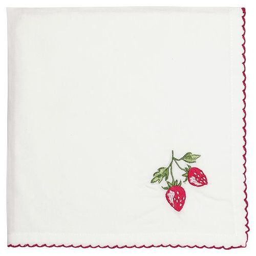 "Stofferviette ""Strawberry red"" GreenGate"