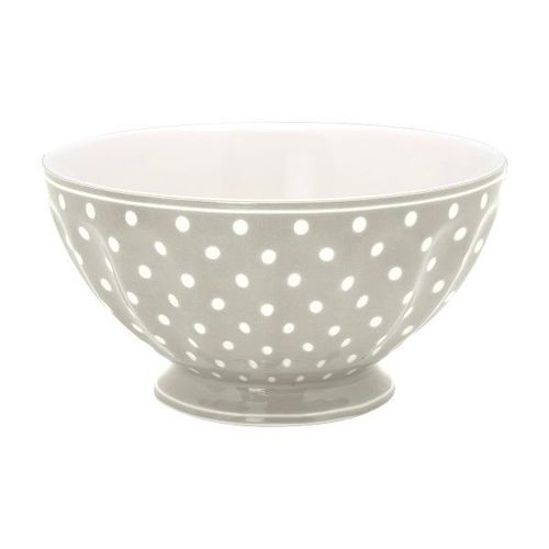 "French Bowl XL ""Spot grey"" GreenGate, 13,5cm"