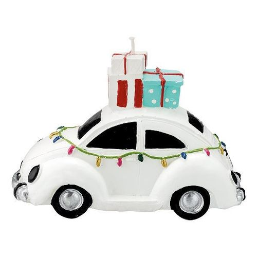 Candle Car white, GreenGate, 17,5cm