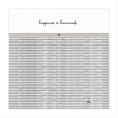 "Papierserviette ""Happiness"" Bastion Collections"